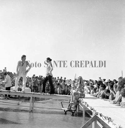 Sfilata di moda sulla spiaggia - Ph. Sante Crepaldi