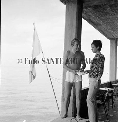 Rudy Neumann nell'isola delle rose - Ph. Sante Crepaldi