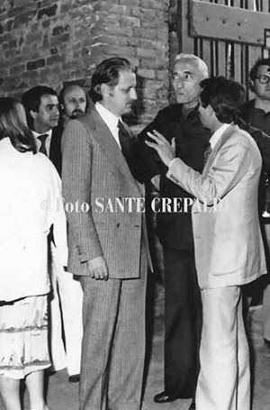 Consegna premio CerviaAmbiente a Jacques Yves Cousteau - Ph. Sante Crepaldi