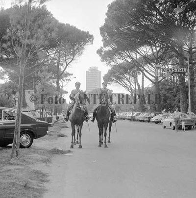 Carabinieri a cavallo a Milano Marittima - Ph. Sante Crepaldi
