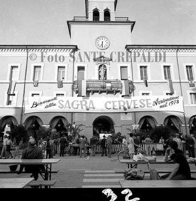 La sagra cervese in Piazza garibaldi - Ph. Sante Crepaldi