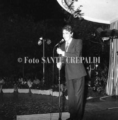Walter Chiari al Giardino d'estate - Ph. Sante Crepaldi