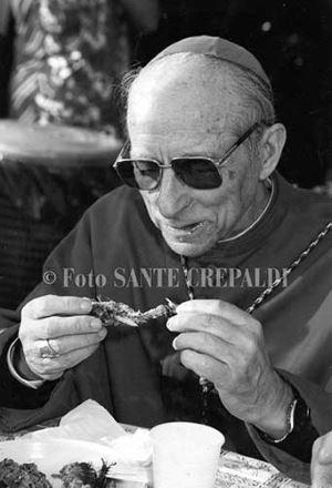Pasto del vescovo con i pescatori - Ph. Sante Crepaldi