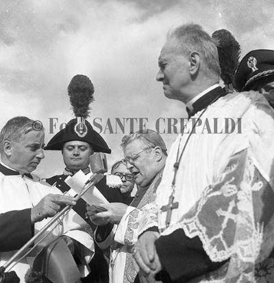Primo piano del vescovo - Ph. Sante Crepaldi