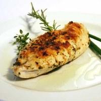 Pollo novello al sale dolce di Cervia