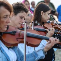 Concerto di Ferragosto all'alba a Cervia con la Grande Orchestra Città di Cervia