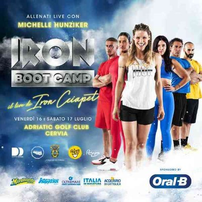 Iron Ciapèt a Milano Marittima, all'Adriatic Golf Club