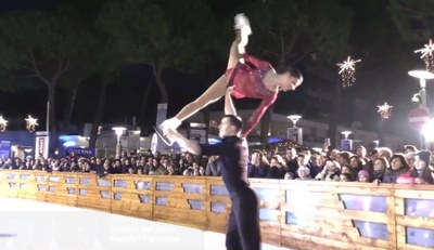 milano marittima - mima on ice video screenshot - 900x520px