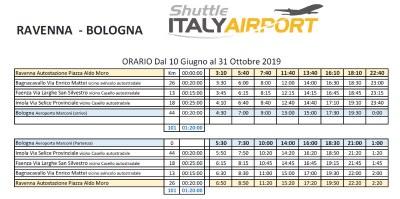 Shuttle Italy Airport, orari