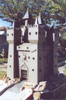 Minigolf dal 1966, castello