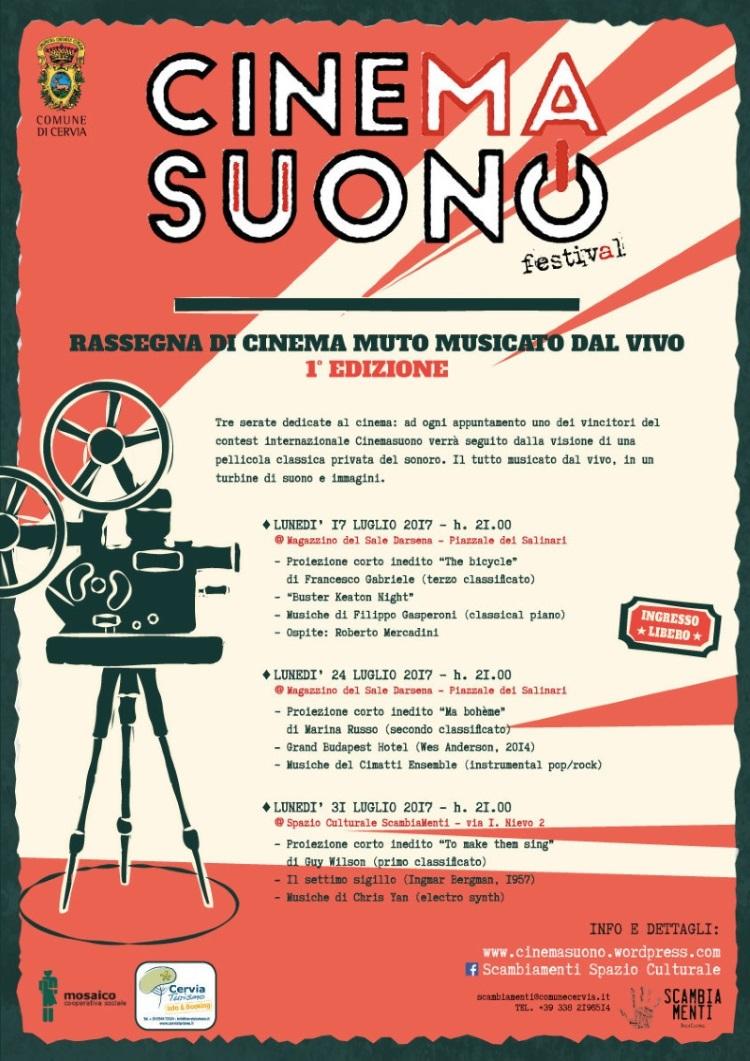 Cinema suono - locandina - 750