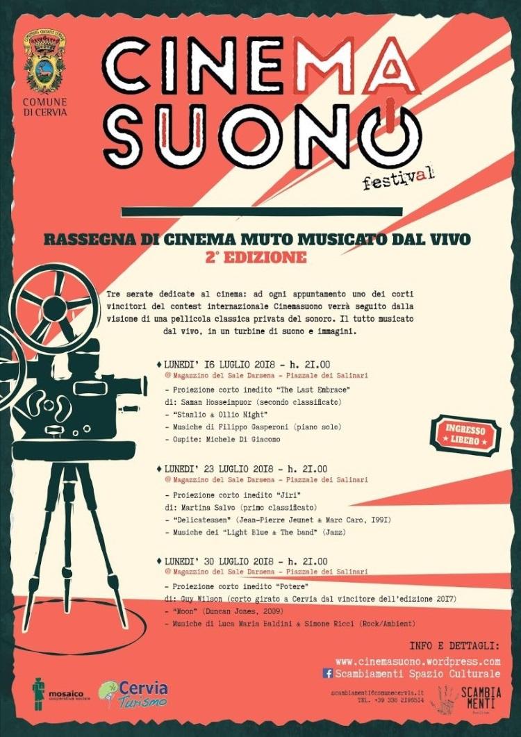 Cinemasuono, locandina