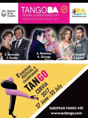 European Tango Championship & Festival - locandina