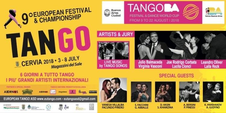 European Tango, banner