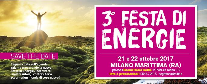 Festa di energie, banner