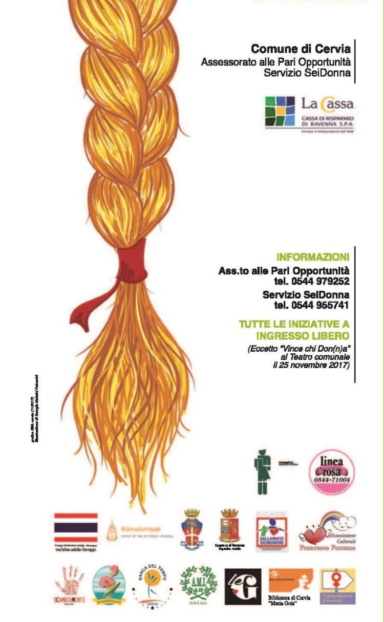 Giornata mondiale contro la violenza alle donne - locandina 1 - rit 750-opt80