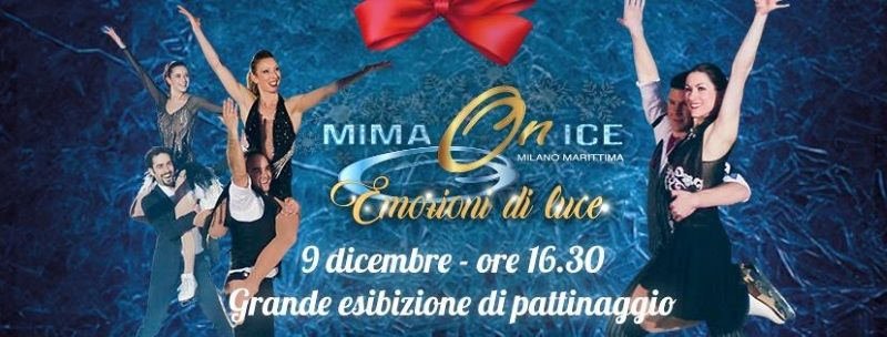 Mima On Ice, spettacolo pattinatori
