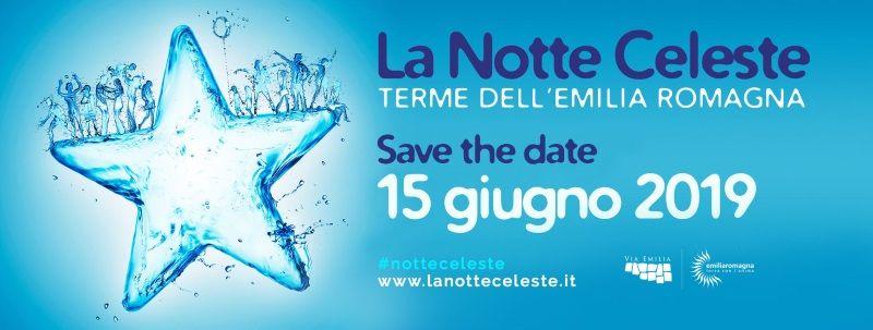Notte Celeste, logo 2019