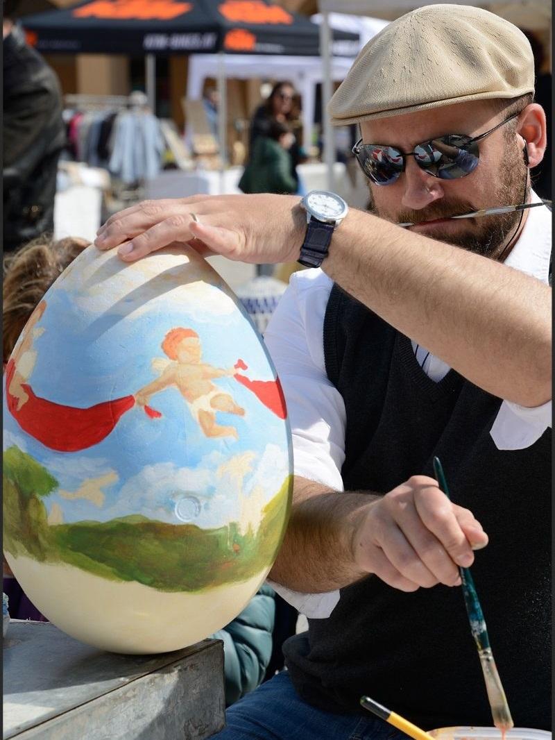 Primavera Marittima, uova d'arte
