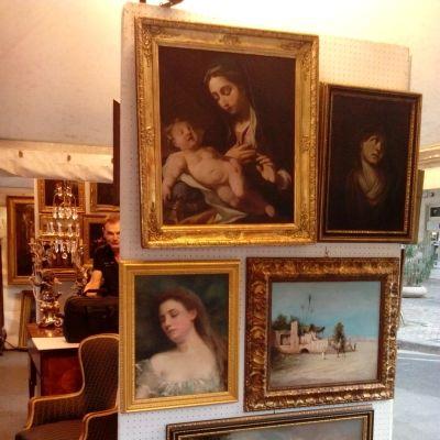 L'Antico e le Palme, quadri
