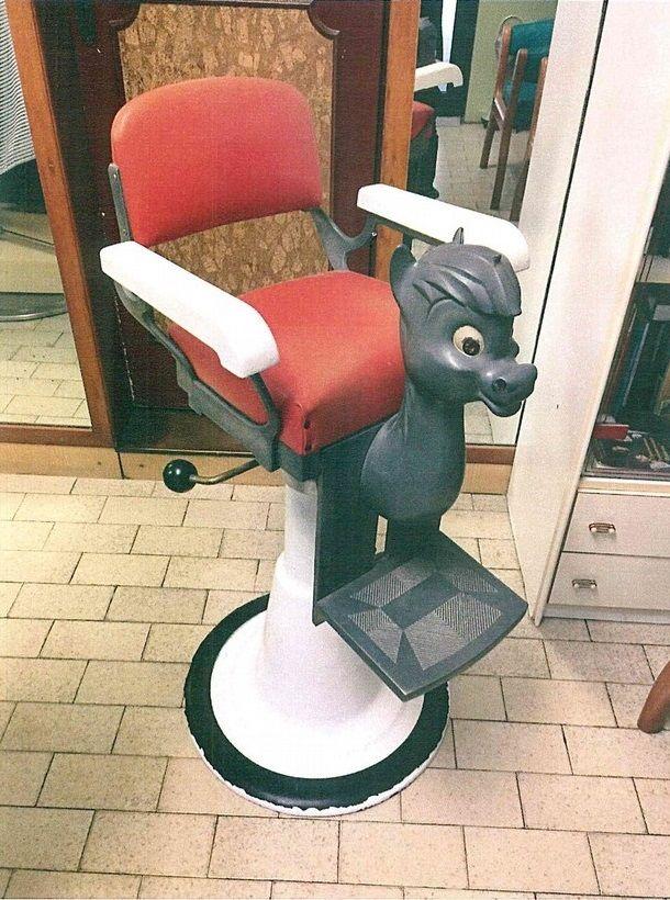 Il barbiere Pivi'n e i suoi attrezzi - cavalluccio - 610-opt80