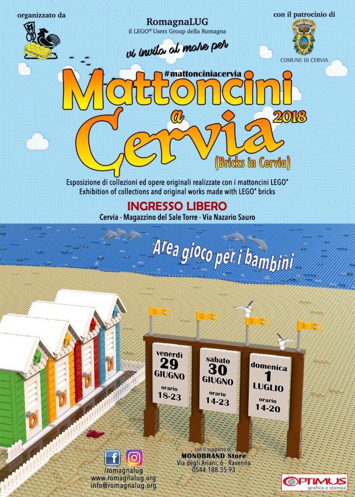 Mattoncini a Cervia, locandina