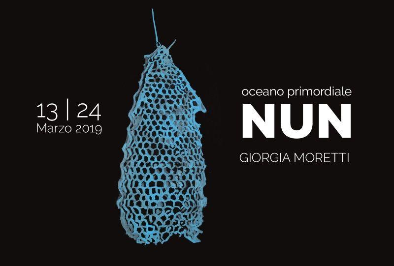 NUN - Esposizione personale di Giorgia Moretti, locandina