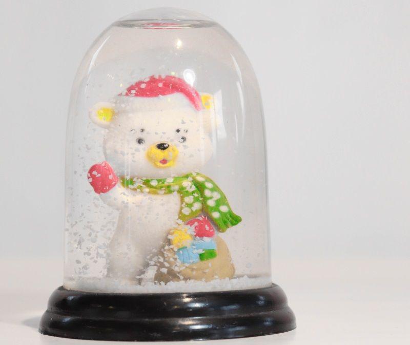 Ti racconto una cosa del mio Natale, palla di neve