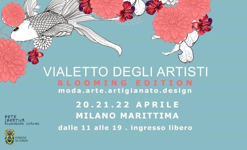 Vialetto degli artisti primavera, locandina 20-22 aprile 2019