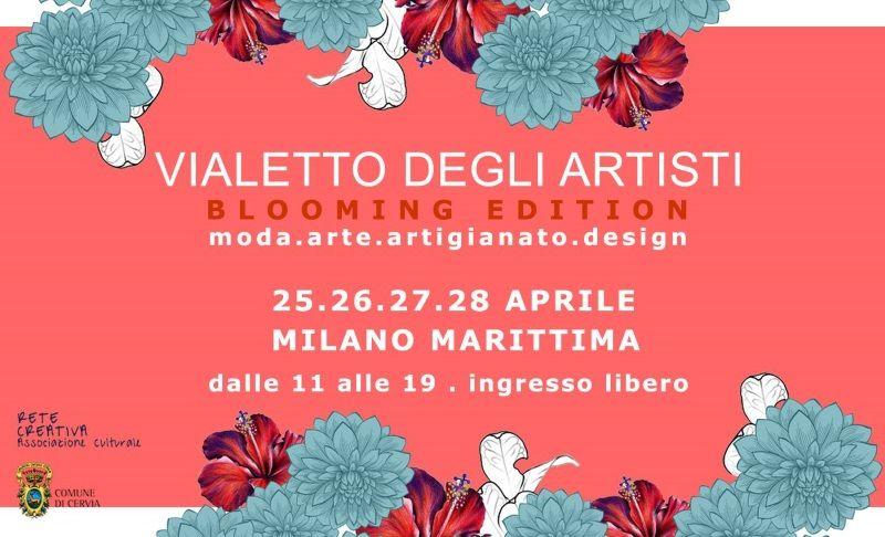 Vialetto degli artisti primavera, locandina 25-28 aprile 2019