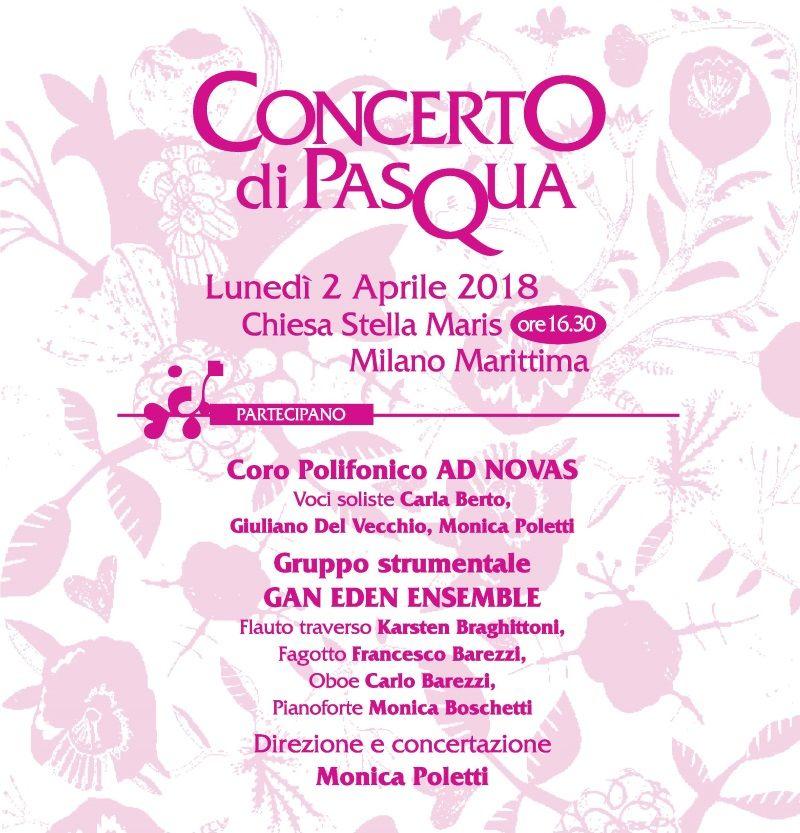 Concerto di Pasqua, locandina
