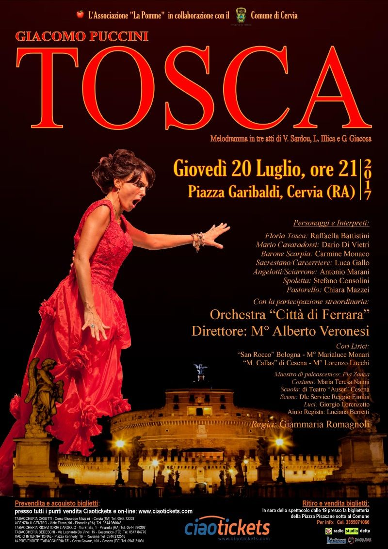 Tosca, locandina