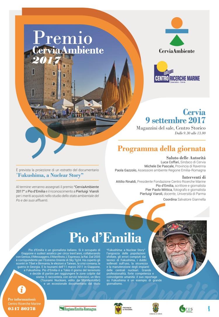 Premio CerviaAmbiente, manifesto