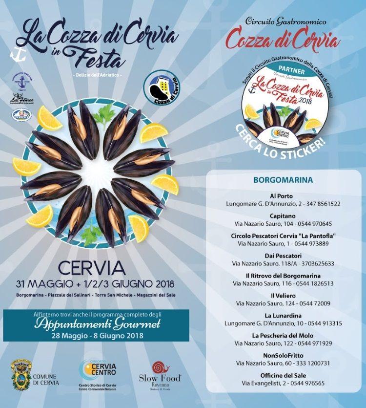 La cozza di Cervia in festa, programma