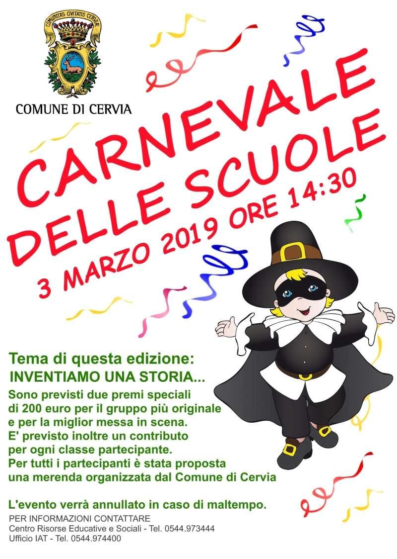 Carnevale delle scuole, locandina 2019