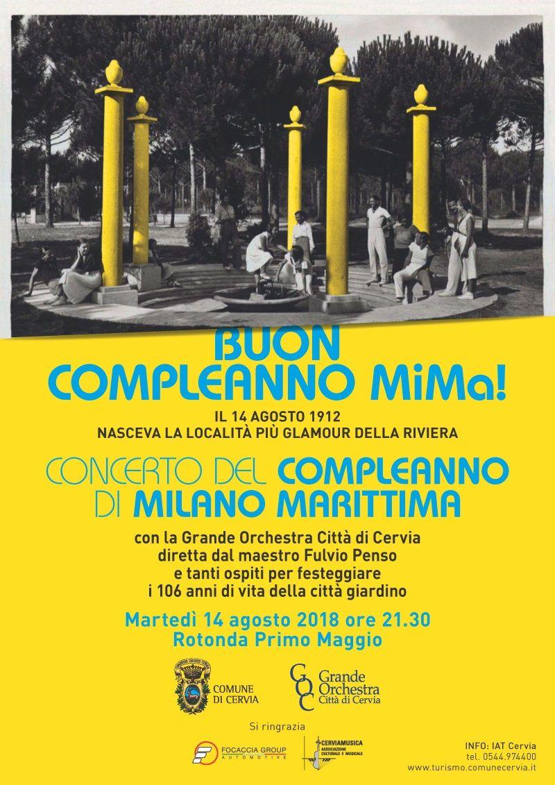 Happy Birthday Milano Marittima, locandina