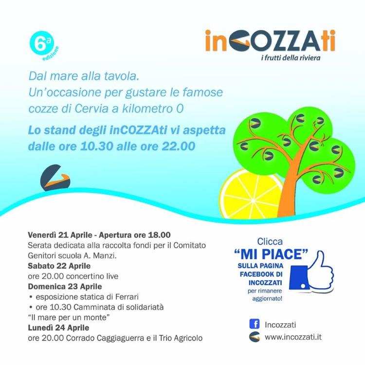 Incozzati - Riviera del gusto - locandina programma - 750