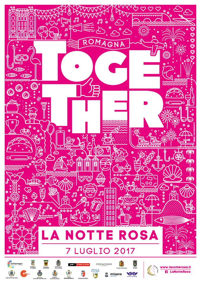 Notte Rosa - Together - locandina