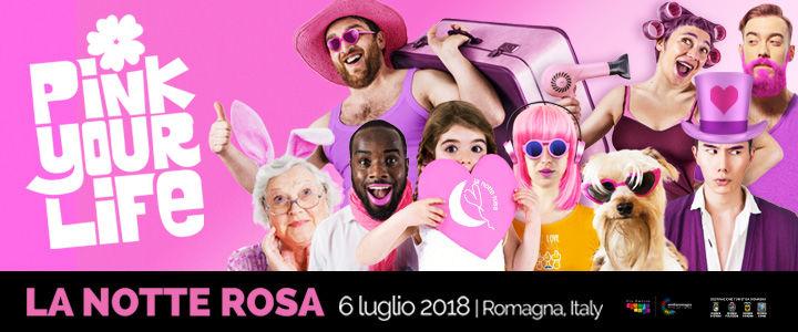 Notte Rosa, banner