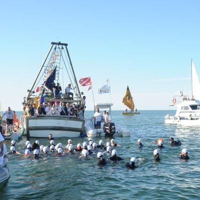 Sposalizio del mare, pescatori in mare