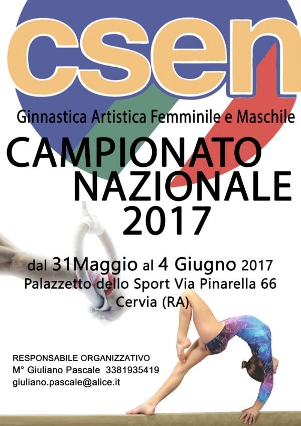 Campionato di Ginnastica Artistica CSEN