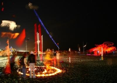 Festival Intenazionale dell'aquilone - notturna