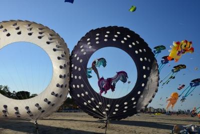 Festival Internazionale dell'aquilone, foto Carlo Morgagni