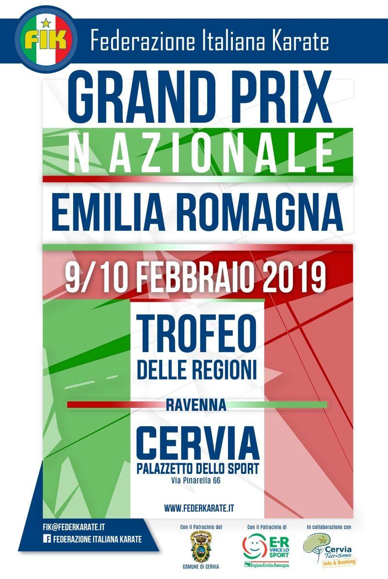 Grand Prix Nazionale d'Emilia Romagna e Trofeo delle Regioni, locandina