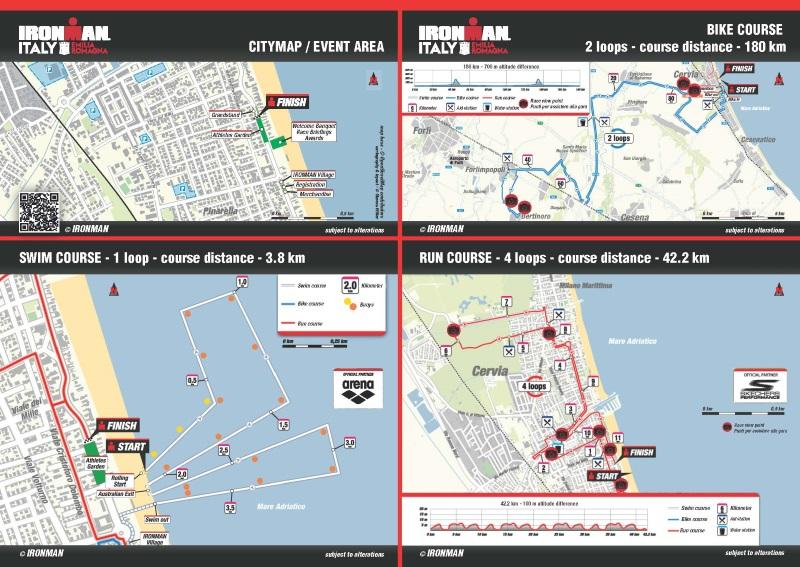 Ironman - mappa percorsi - 800