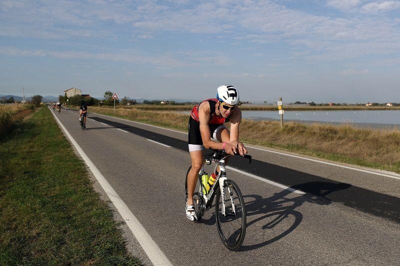 Ironman, bicicletta in salina