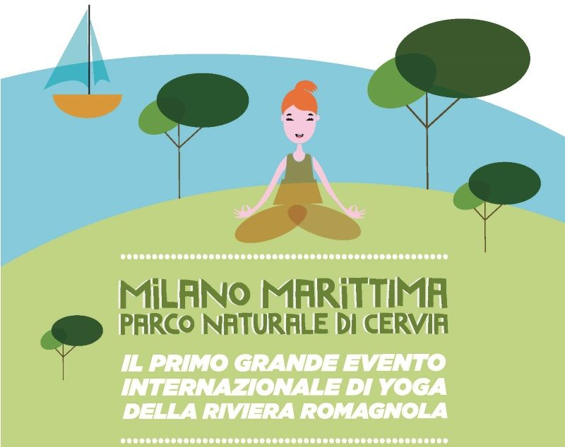 Milano Marittima Yoga, locandina