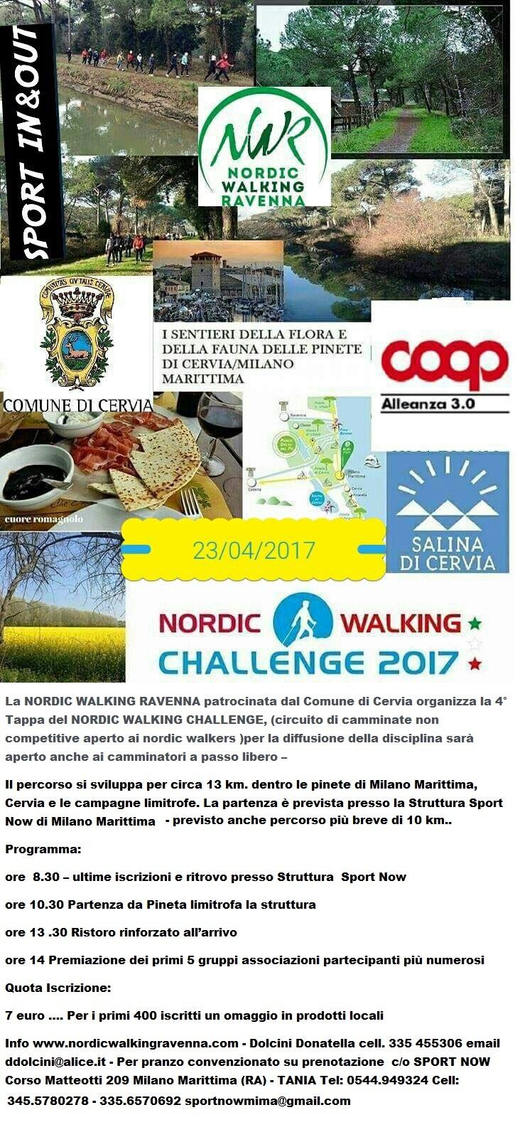 Nordic walking - locandina aggiornata