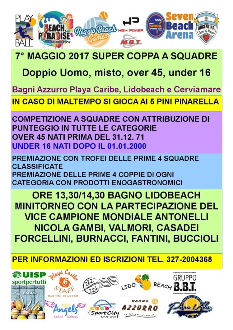 Playball - Super Coppa a squadre - locandina - 750 min