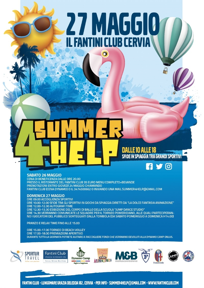 Summer 4 Help, locandina